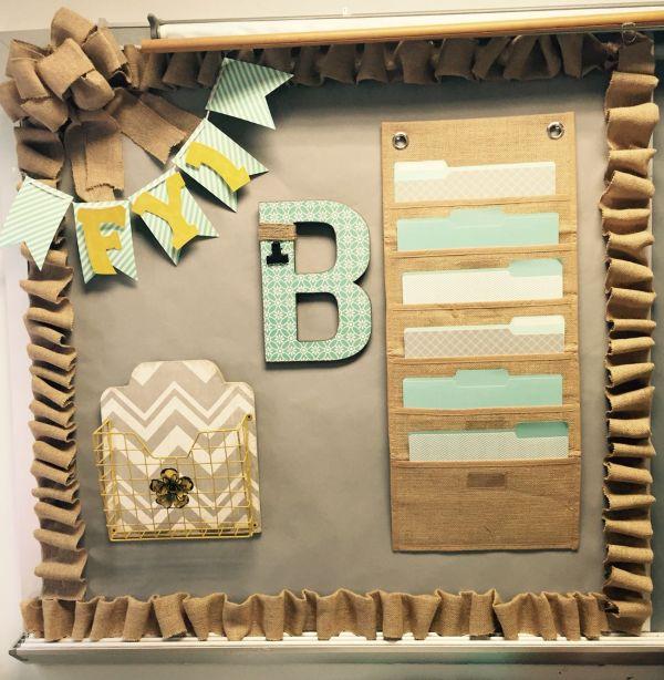 Office Bulletin Board Decorations