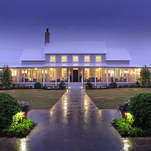 2013 Idea House Overview Southern Farmhouse Southern Living And