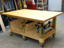 Assembly Table On Wheels