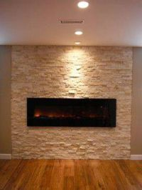 Image of: wall mount electric fireplace tips | Basement ...