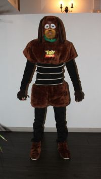 Slinky toy story costume disfraz halloween make up