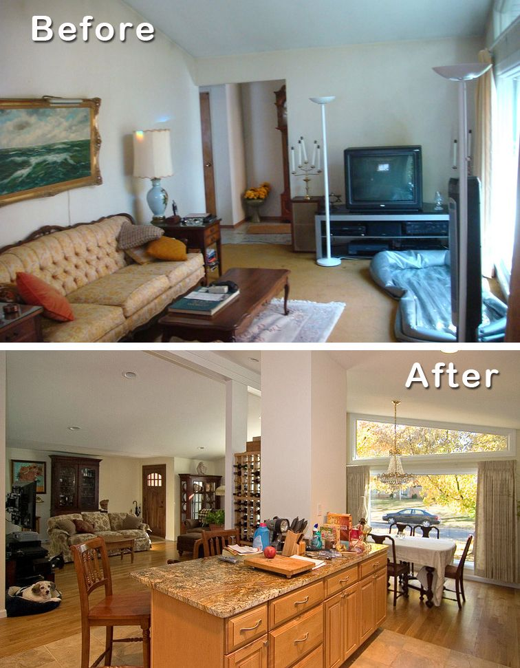 2 Knock Down Walls For Open Floor Plan 5 Reasons To Remodel A