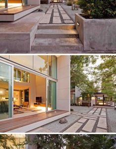 cantilevered bedroom protrudes from the front of this new house in thailand also rh pinterest
