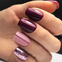 45 Must Try Fall Nail Designs and Ideas | Makeup, Manicure ...