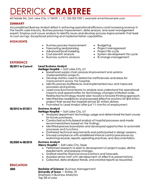 resumer examples it professional resume examples resume template
