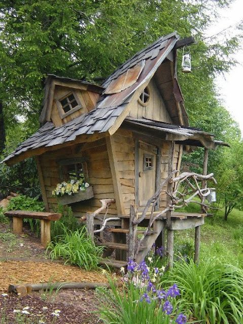 Cool Garden Sheds Gardens Love This And House