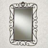 Wrought Iron Wall Mirrors Decorative | Wall Plate Design Ideas