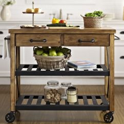 Ikea Kitchen Island Canada With Sink Crosley Roots Rack Cart Wood Top And Reviews