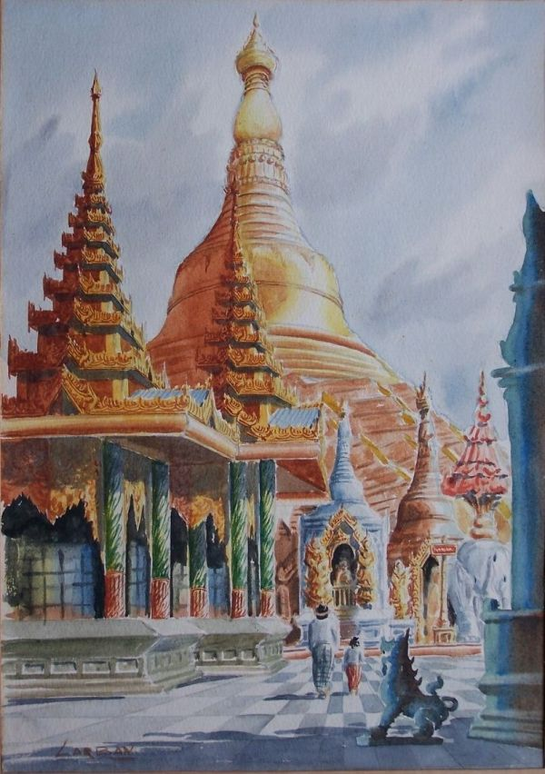 Myanmar Painting Art