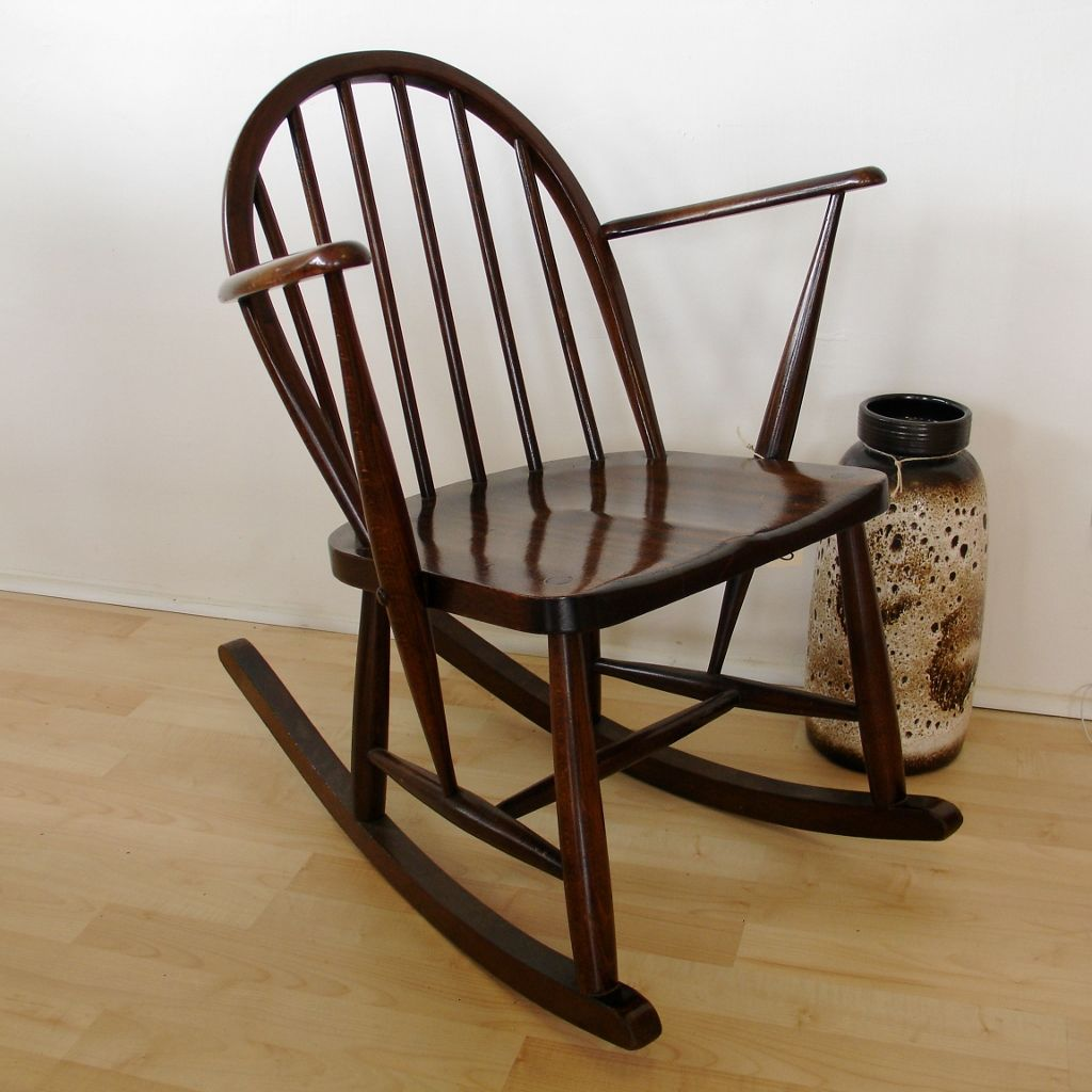 Small Rocking Chair Ercol Small Rocking Chair My Modern Nest Pinterest