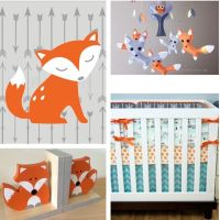 Woodland Nursery Decor, Fox Nursery Decor, Arrow Nursery ...