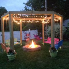Fire Pit Chairs Lowes Chair Covers Michaels We Love Our Swing. | Gardening Pinterest Swings, Backyard And Yards