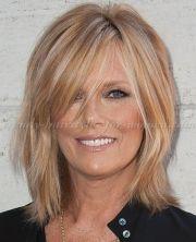 medium hairstyles over 50