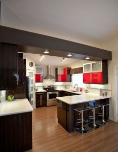 shaped kitchen houses plans pinterest shapes kitchens and interior designing also rh