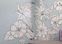 flower-mural-web.jpg (500359) | Murales Interiores ...