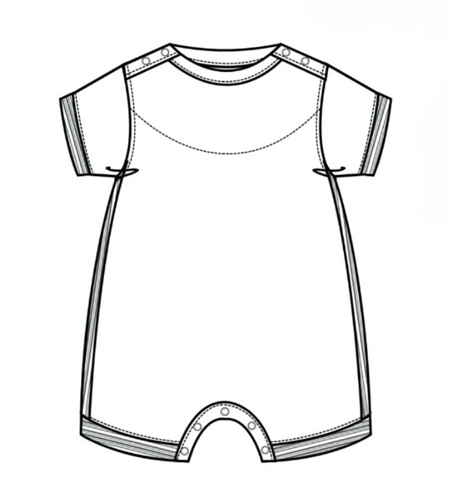 technical flats / kids clothes / girls / boys / baby