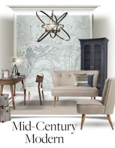 Contemporary mid century style office by bexlacey lloyd liked on also rh za pinterest