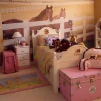 Cowgirl bedroom