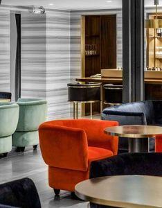 Designer charlotte biltgen updates the klay club in paris also rh pinterest