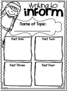 6 Best Images of Informational Text Graphic Organizer