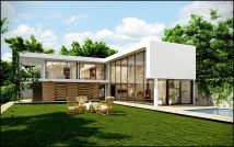 Small L-shaped House Designs