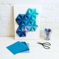 Origami wall art  | Pinteres