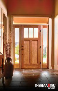 Therma-Tru Classic-Craft American Style fiberglass door ...