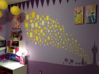 Disney Princess and Rapunzel Tangled themed kids room. I ...