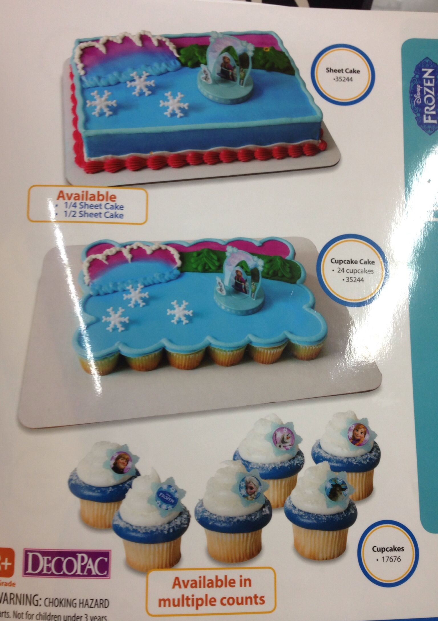 Frozen Cake And Cupcakes At Walmart