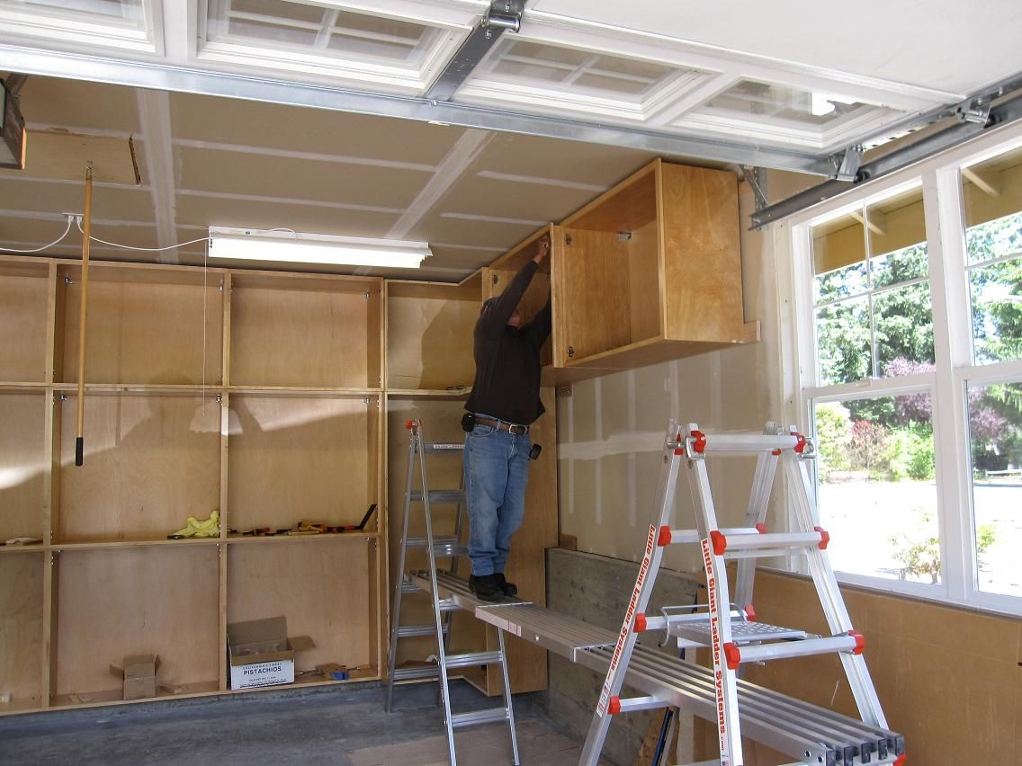 Wood Garage Cabinet Plans  cabinets garage cabinets and