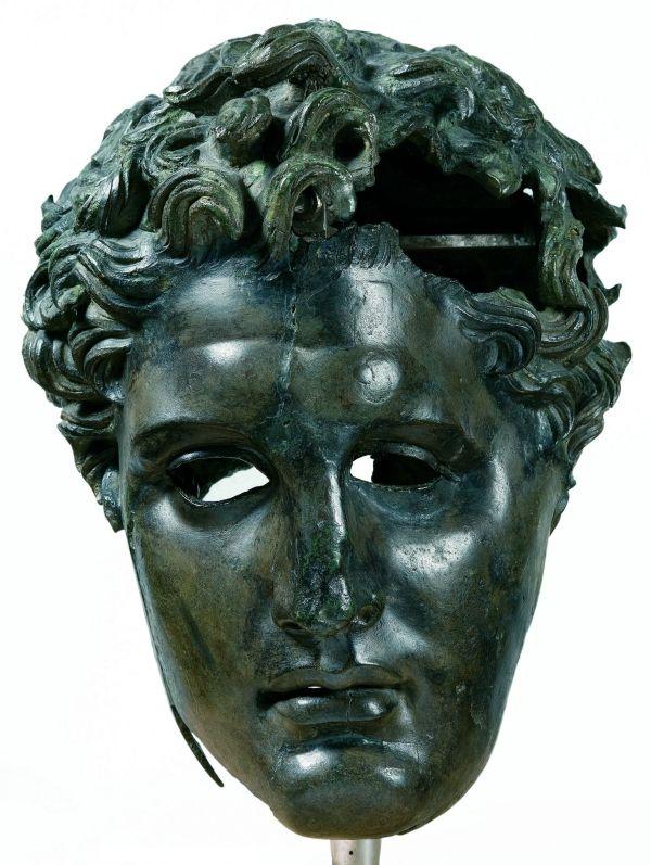 Portrait Of Diadoch Demetrios Poliorketes 310 290