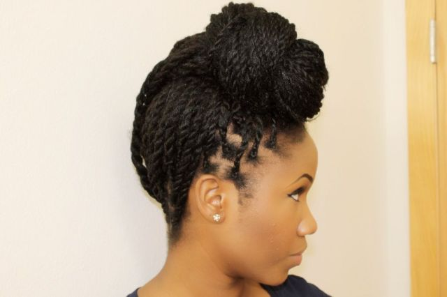 Corn Rows with Marley Hair Styles  Box  Braids  Senegalese