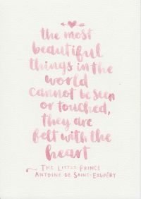 The Little Prince Quote, Girls Nursery Decor, Baby Girl ...