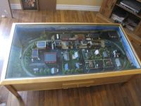 toy railway layout table - Google Search | trains sets on ...