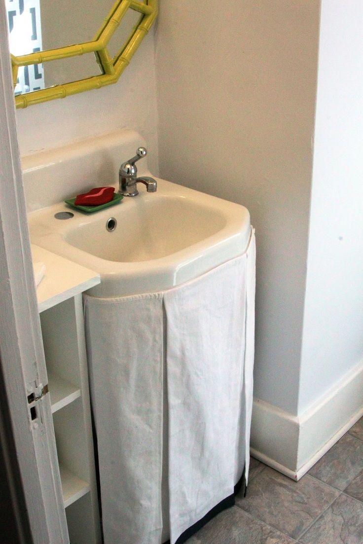 Top 10 Easy DIY Sink Skirts