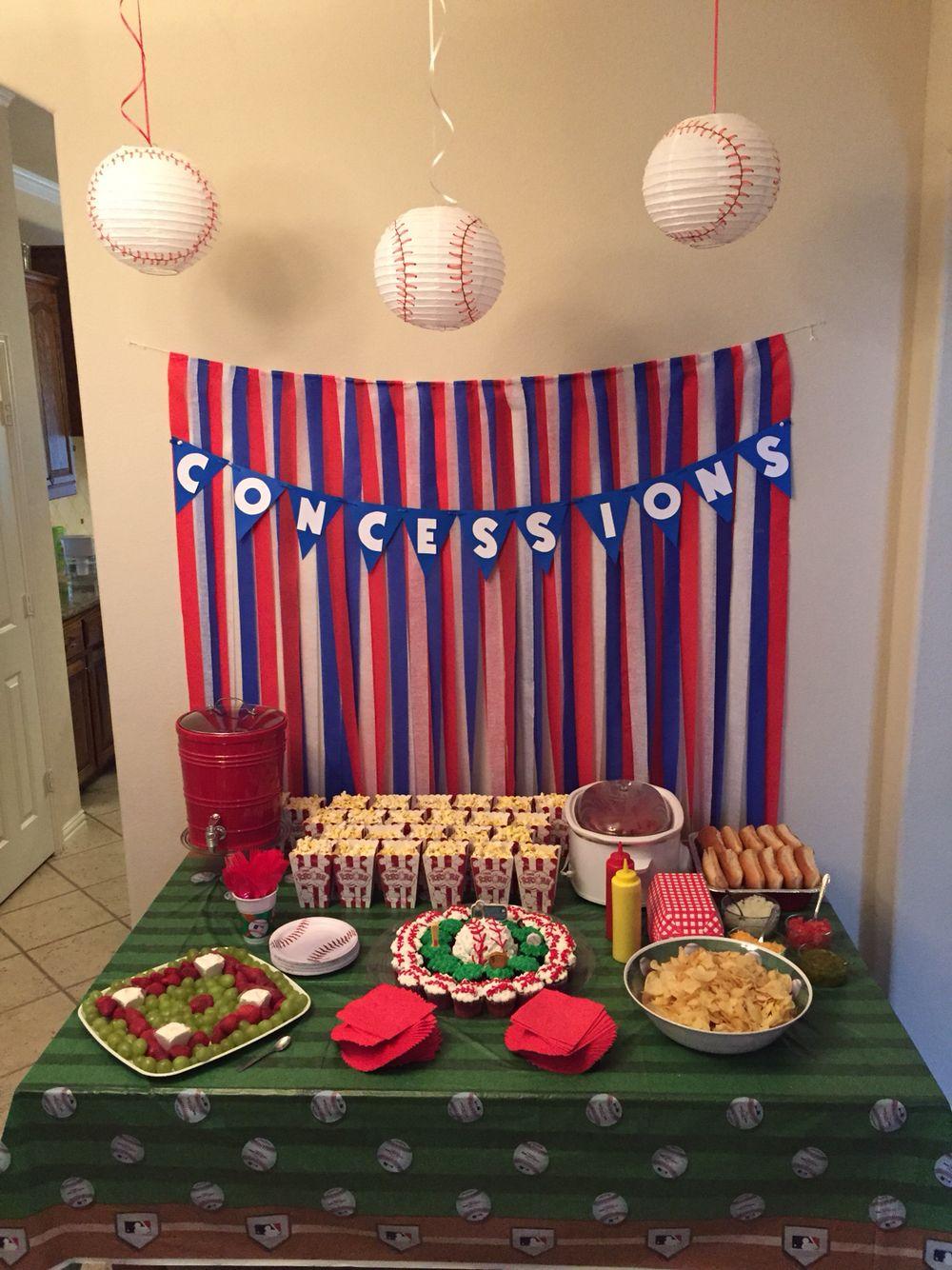 Baseball Theme Party Favors