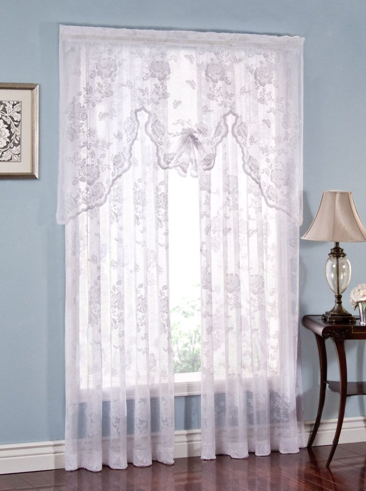 White Lace Curtain Panels BestCurtains