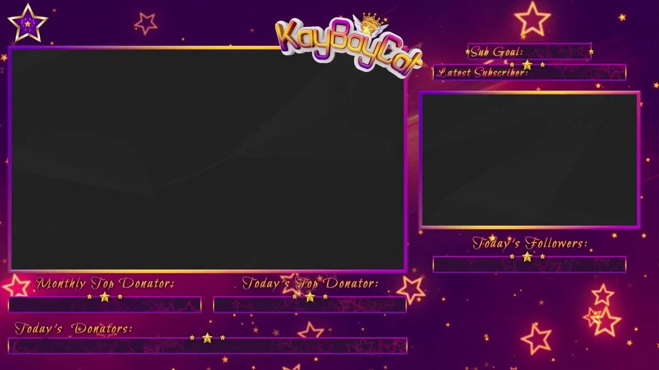 Overlays Twitch Obs Cute