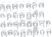 anime girl emo hairstyles