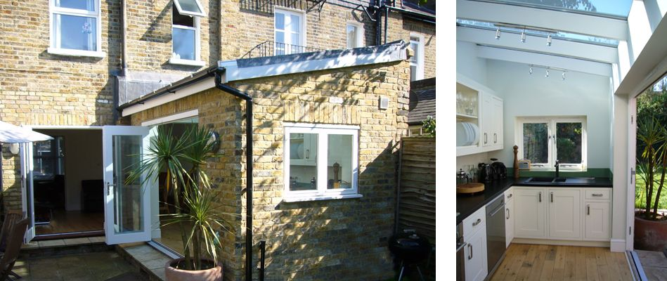A Small Extension To A Period End Of Terrace House To House A