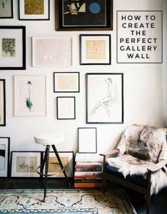 Gallery wall ideas framed prints art home decor also un mur de cadres varies dans ce salon inement boheme deco rh pinterest