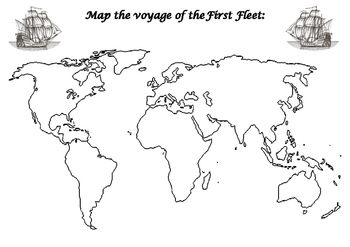 First Fleet mapping