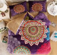Amazon.com: MakeTop Boho Style Bedding Set, Boho Duvet ...