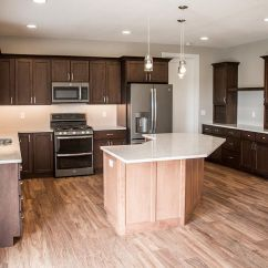 Slate Kitchen Appliances Commercial Lighting Beautiful With Aspect Maple Cabinets Praline