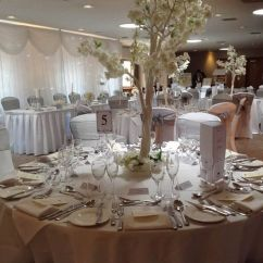 Chair Cover Hire Tamworth Stands On Lea Marston Hotel Blossom Tree Centrepieces Starlight Wedding Venue Dressing By Make It Special Events Covers Trees Backdrop