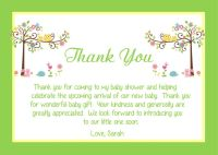 Baby Shower Thank You Card Wording Ideas | All Things Baby ...