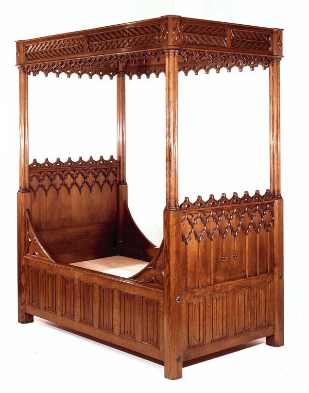 furniture repair gothic bed