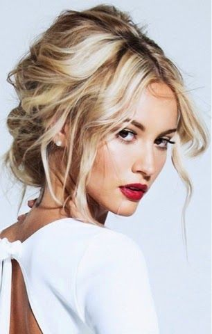 13 Fierce Hairstyles To Try This NYE Updo Tousled And Coiffures