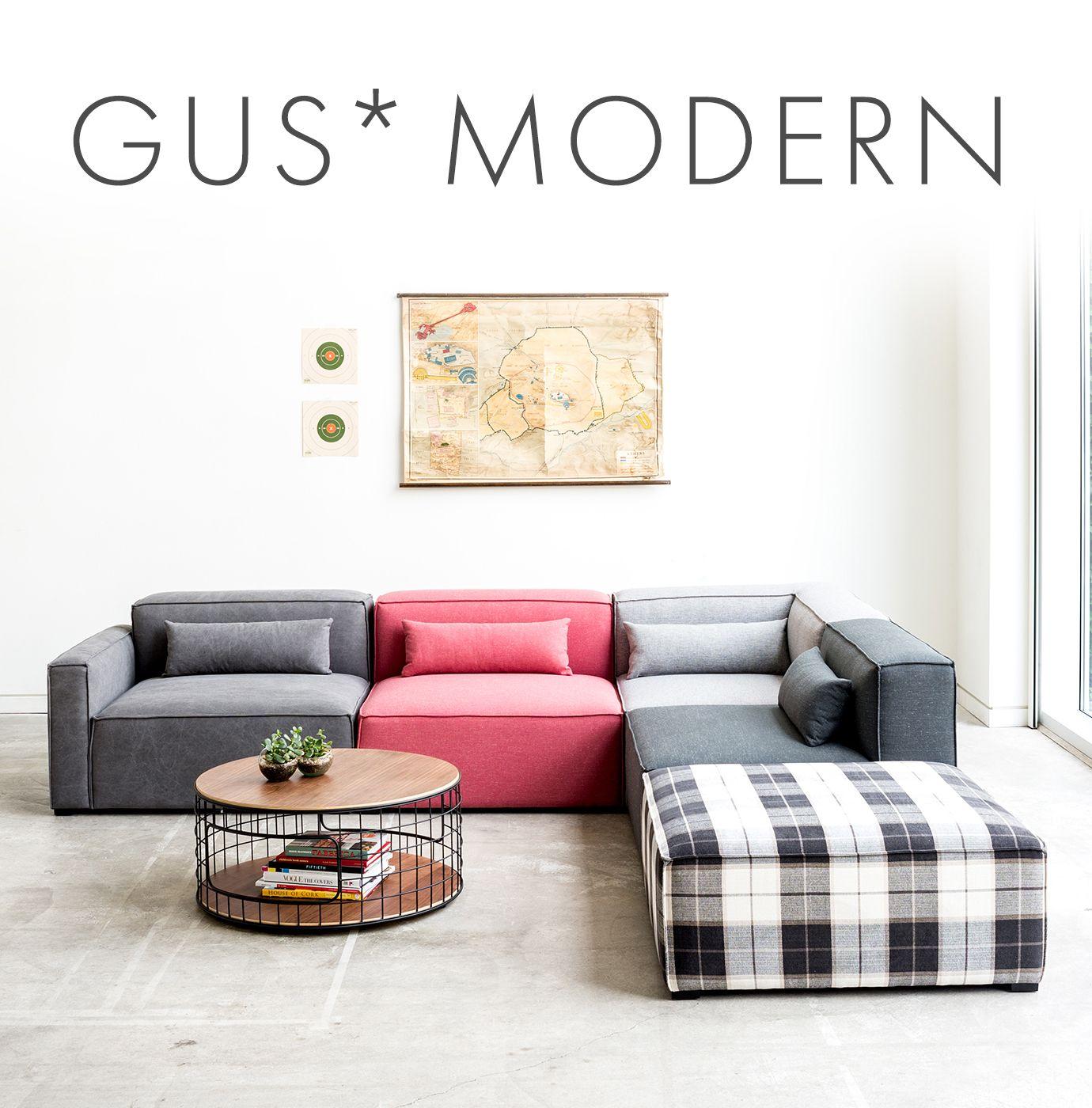 gus modern sofa sale repair sagging springs upholstery save 20 through august 14