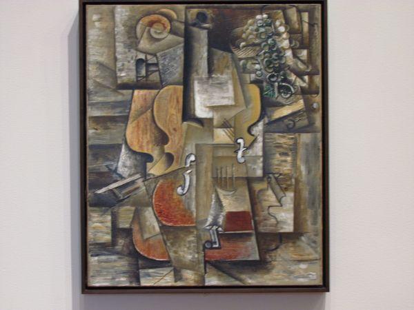Moma Viol Uvas 1912. Obra Del Espaol Pablo Picasso